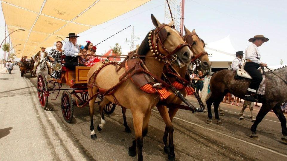 Paseo de caballos feria 2012