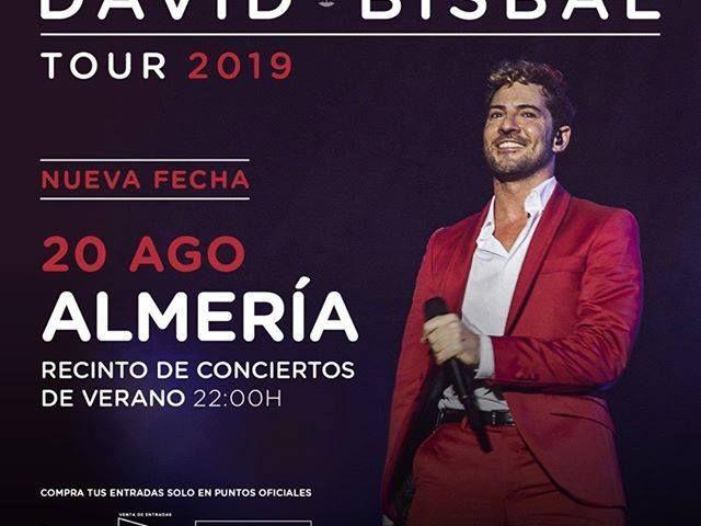 Concierto David Bisbal - Feria de Almeria 2019