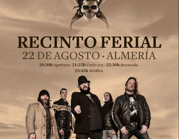Concierto Marea - Feria de Almeria 2019