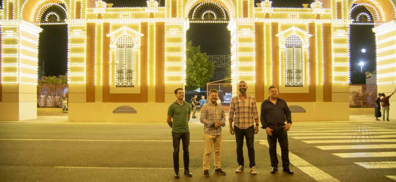 Alumbrado Feria de Almeria