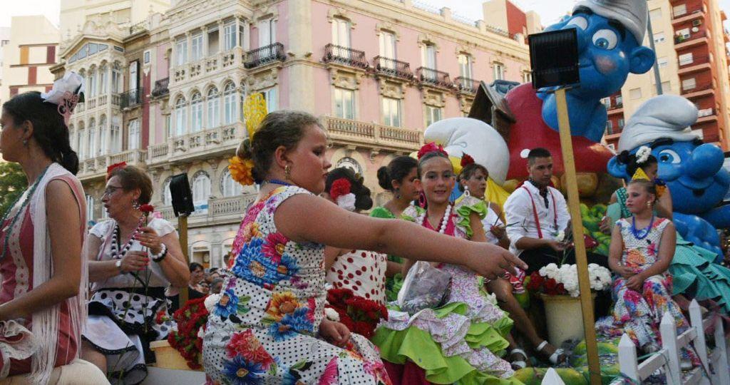 Batalla de Flores Feria de Almeria