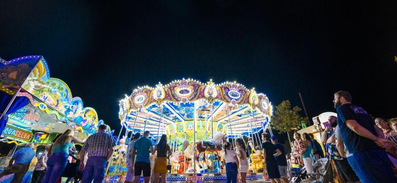 Feria de Almeria sin ruido y con luces fias