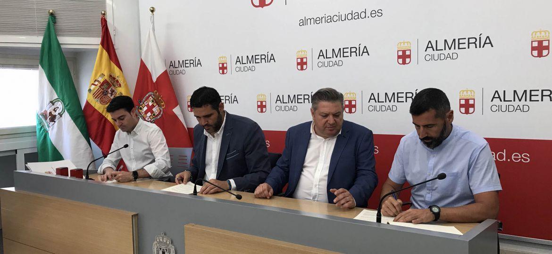 Firma convenio Cooltural fest3 - Feria de Almeria
