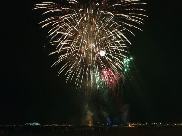 Fuegos Artificiales fin de Feria de Almeria 2019 3