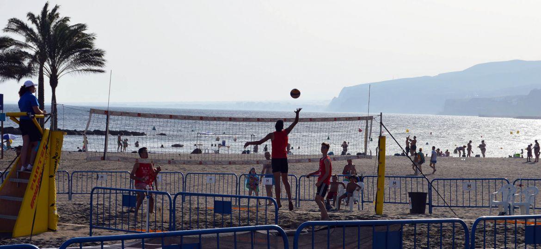 Mintonette Voley Playa - Feria de Almeria 2019