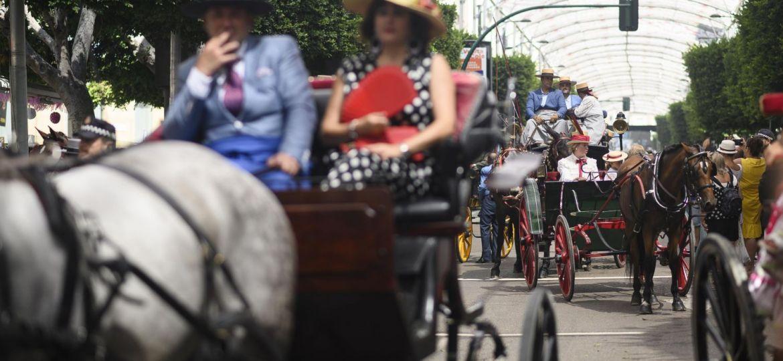 paseo caballos Feria de Almeria