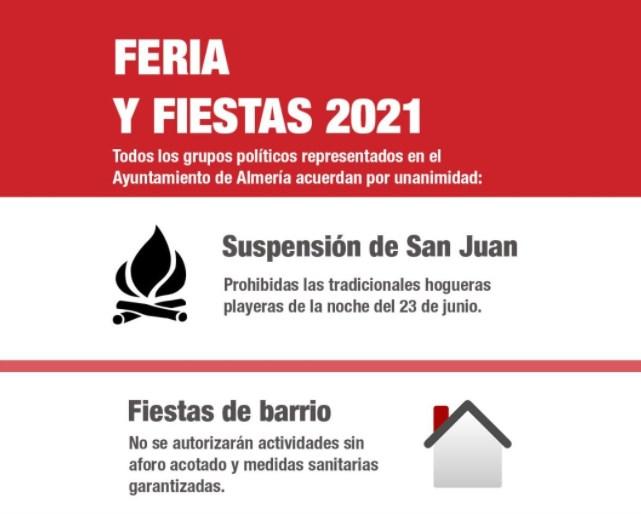 Feria de Almería y Fiestas 2021 2